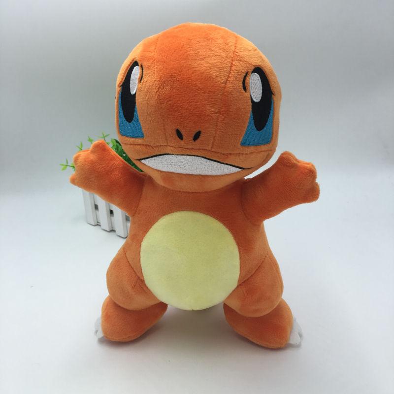 New Anime Pokemon Charmander Plush Toys Mini Kawaii Genius Soft Stuffed Animals Doll for Kids Children Birthday Gift Pokemon Toy(China (Mainland))