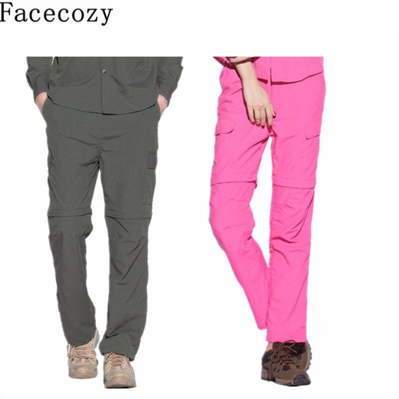 Couple Summer Removable Camping Pants Outdoor Sport Pants Women&amp;Men Casual Climbing&amp;Hiking Pant Breathable Hunting&amp;Fishing Pants<br><br>Aliexpress