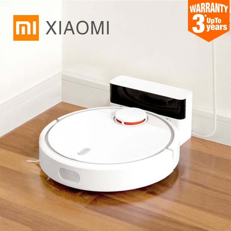 2017 New Original XIAOMI MI Robot Vacuum Cleaner for Home Filter Dust Sterilize Roller brush Smart Planned Phone Remote Control(China (Mainland))