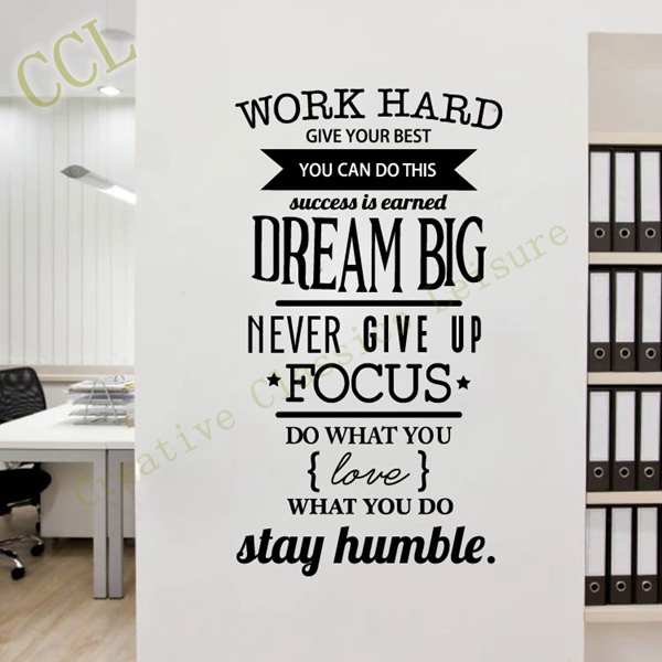 Buy free shipping motivation wall decals for Room decor ideas quotes