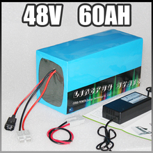 48V 60Ah electric bike battery , 4000W Samsung Electric Bicycle lithium Battery with BMS Charger 48v li-ion scooter battery pack