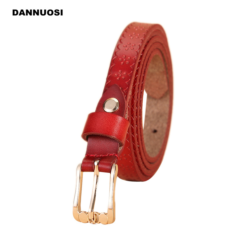 [DANNUOSI] 2016 new Ms. Buckle Leather Belt 100% pure leather ladies leather belt leisure wild jewelry(China (Mainland))