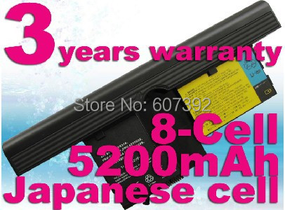 3-Year Warranty!New 8Cells Laptop Battery For IBM X61T X60 Tablet PC X61 Tablet PC 40Y8314, 40Y8318, FRU 42T5204, FRU 42T5206(China (Mainland))