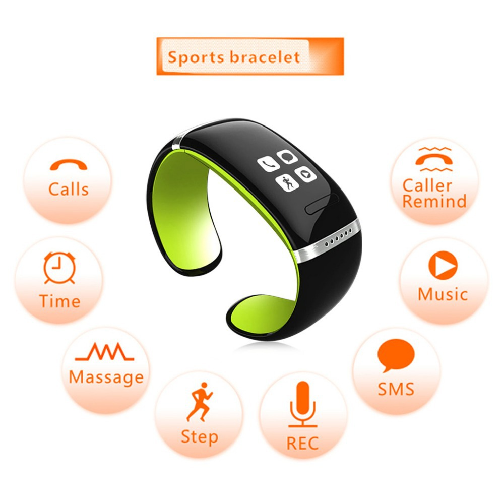 OLED Smart Sports Watch Bluetooth Bracelet Call ID Display/Answer/Dial/SMS Sync/Anti-lost For Samsung/ HTC + More(China (Mainland))