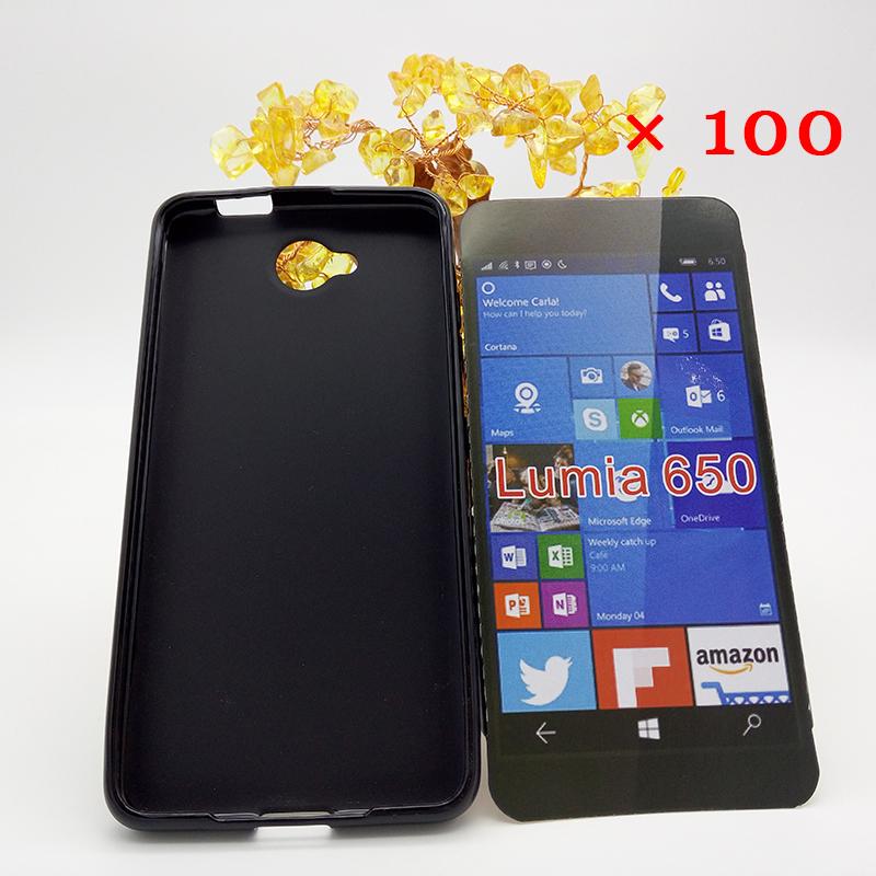 Здесь можно купить  100P/LOT 2016 New TPU Soft case for Nokia Lumia 650 Cellphone case Back case Flexible Soft Gel Silicon Mobile phone case  Телефоны и Телекоммуникации