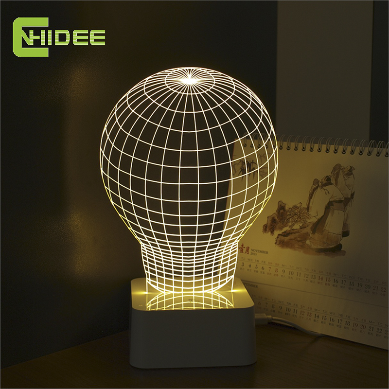 3D led bulb touch table lamp<br><br>Aliexpress