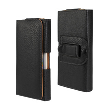 2015 New Lichee pattern/Smooth pattern Leather Pouch Belt Clip bag For Elephone P8000 Phone Cases Cell Phone Accessory