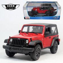 Meritor figure maisto 1:18 2014 horsemen of jeep jeep wrangler alloy car models