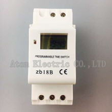 Buy THC15A zb18B timer switchElectronic Weekly 7Days Programmable Digital TIME SWITCH Relay Timer Control AC 220V 16A Din Rail Mount for $4.20 in AliExpress store