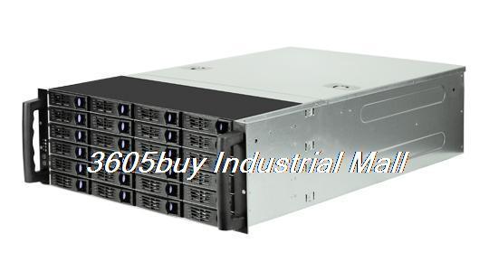 Hot pluggabel rack computer case r4324 4u computer case high quality computer case(China (Mainland))