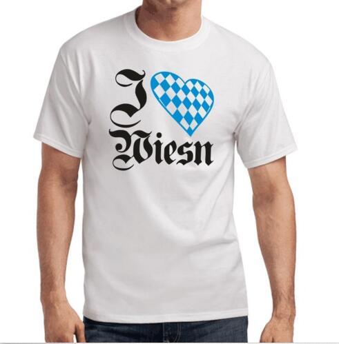 I Love Wiesn | Oktoberfest | Munchen | Bayern | Wiesn | S-XXL T-Shirt(China (Mainland))