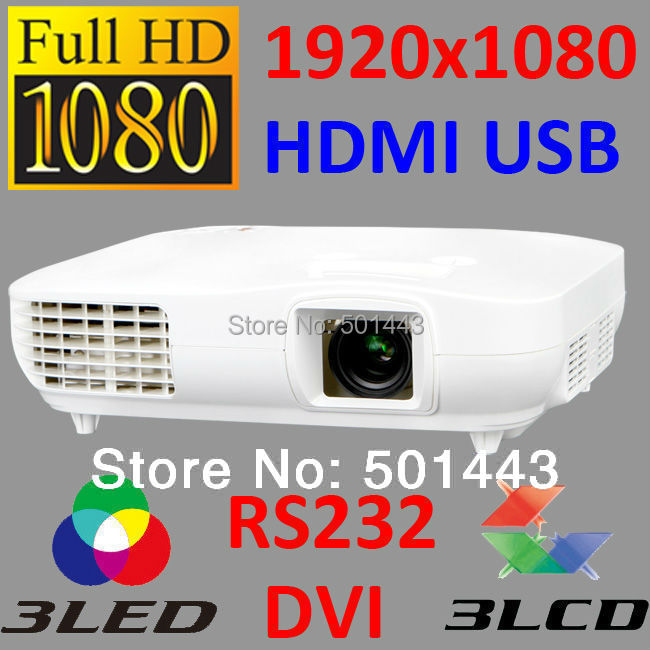 2015 Native 1920x1080 Multimedia Full HD 1080P 3led3lcd CRE X2000 Individual Theater Projecteur ATV Video Beamer Projector(China (Mainland))