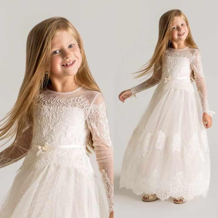 Compare Prices on Floor Long Little Girls Dress- Online Shopping ...