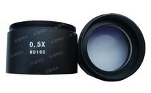 0.5x educación auxiliar adjunto lente objetivo para el estudiante laboratorio escuela microscopio estéreo accesorios de las piezas de accesorios de montaje