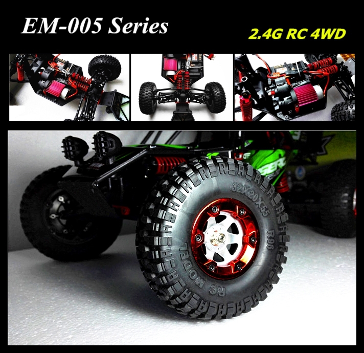 Climbing RC Car 2.4G Electric Truck 1/12 Scale EM-005 Series(China (Mainland))