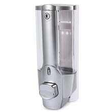 New Arrival 350Ml Wall Mount Shower Bath Soap Shampoo Dispenser With A Lock For Bathroom Washroom High Quality(China (Mainland))