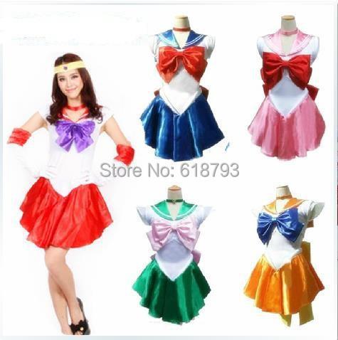Plus Size Sailor Moon Cosplay 2015 Hot Sailor Moon Cosplay