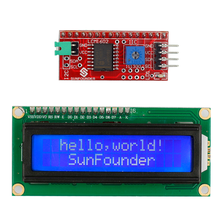 SunFounder IIC/I2C/TWI 1602 Serial LCD Module Display for Arduino Uno R3 Mega 2560 DIY Electronic