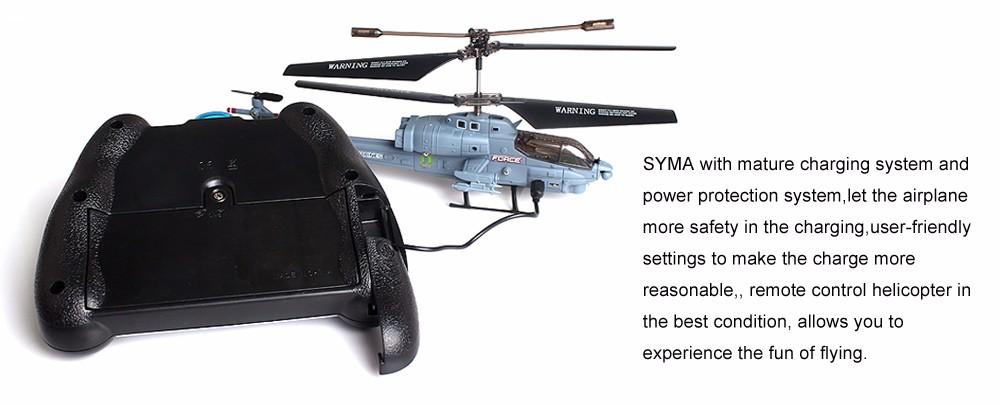 2016 Hot Sale Syma S108G Marines AH-1 3CH Indoor RC Attack Helicopter Radio remote control Toys Gray color 100% Original