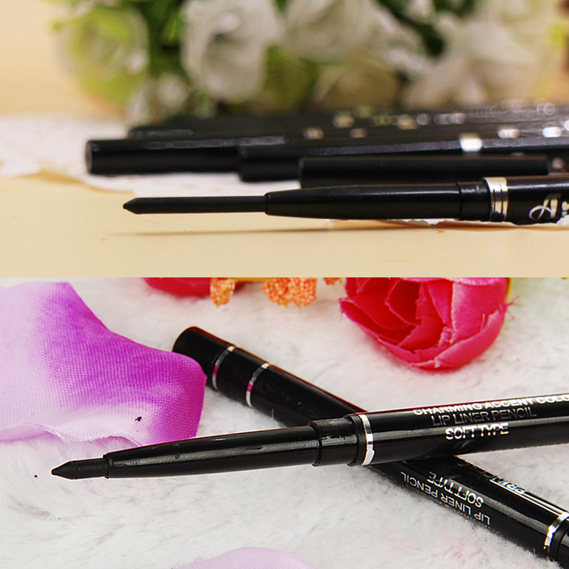 2016 New Fashion High Quality Long Lasting Black Waterproof Eyeliner Pencil Eyeshadow Natural Gift Cosmetic Makeup Pen For Women(China (Mainland))