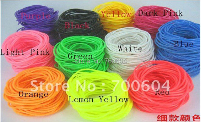 candy color imitation leather trendy silicon candy color rubber bands bracelet  bangle  for girls inner diameter 6.5cm/6.0cm