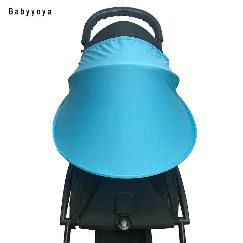 Baby Stroller SUN VISOR Sunshade Canopy Cover for Prams and Stroller Accessories Car Seat Buggy Pushchair Pram Cap Sun Hood(China (Mainland))