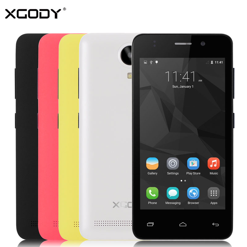 XGODY Smartphone 1GB RAM 8GB ROM Quad Core GPS Wifi With 5MP Camera G12 4.5''Android 5.1 Telefone Celular 3G Unlocked Cell Phone(China (Mainland))