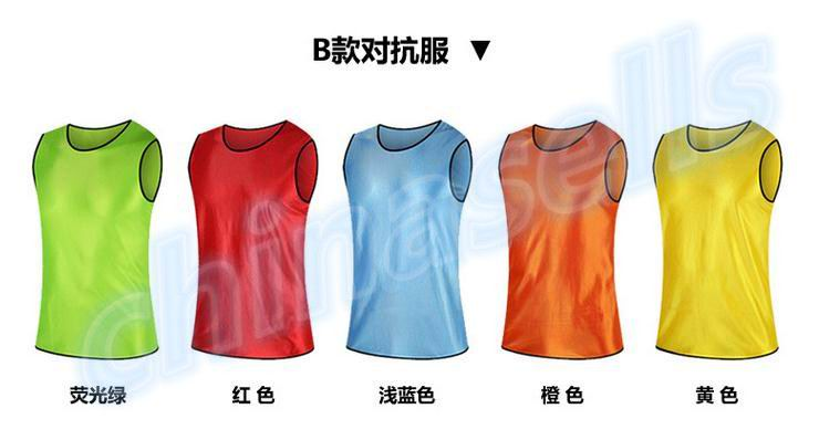 40pcs adult soccer football basketball group against scrimmage vest combat training vest tank top lacrosse jerseys(China (Mainland))