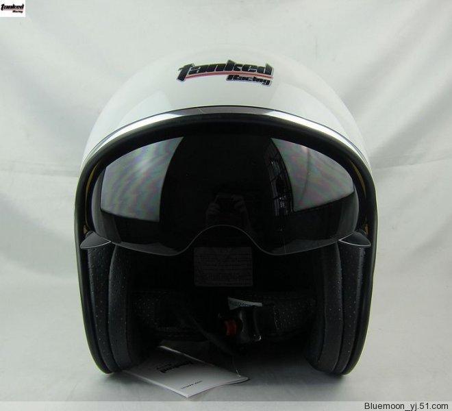 TANKED motorcycle helmet Pilot helmet 3 4 summer helmet TANKED V537 half ECE DOT SNELL