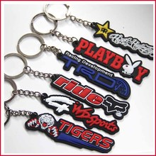 1PCS Rubber Car Motorcycle Motorbike Cool Keyring Keychain Key Chain Fox Head(China (Mainland))