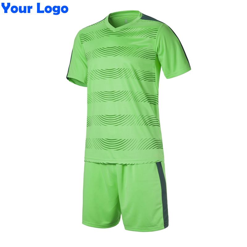 2016 New Men & Kids Team Soccer Short Jersey Set Blank Survetement Football Uniforms Kit Running Training Tracksuit Design XXXL(China (Mainland))
