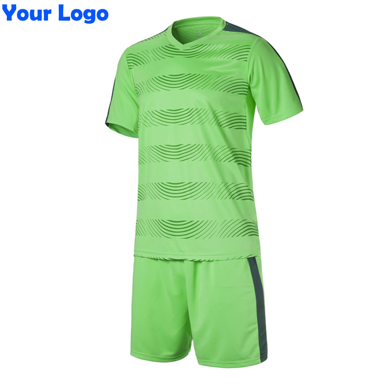 2017 New Kids Team Soccer Short Jersey Set Blank Survetement Football Uniforms Kit Running Training Tracksuit Design(China (Mainland))