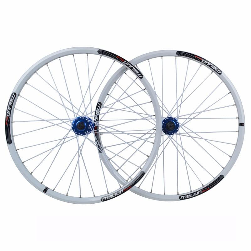 Buy 26'' inch 32 Holes MTB Mountain Bikes Road Bicycles Disc Brake  Wheel Hubs Rim knife circle Wheelset Parts cheap