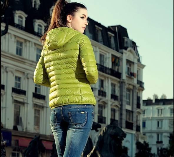 Yeni 2016 moda Kış Ceket Kadın Ince Düz renk Moda Ince Parkas Mujer Rahat Kapüşonlu Artı Boyutu kadın Ceket Casacas