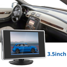 3.5 Inch 320 x 234 Pocket-sized Color TFT-LCD Display Car Rear View Monitor with 2-Channel Video Input(China (Mainland))