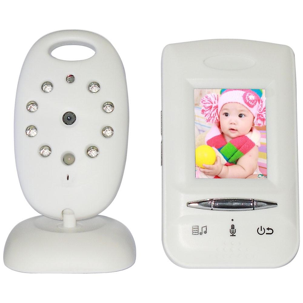 Здесь можно купить  Lastest Color LCD Wireless Night Vision IR LED Temperature Monitoring Baby Monitor Security Camera Digital Signal Transmission  Детские товары