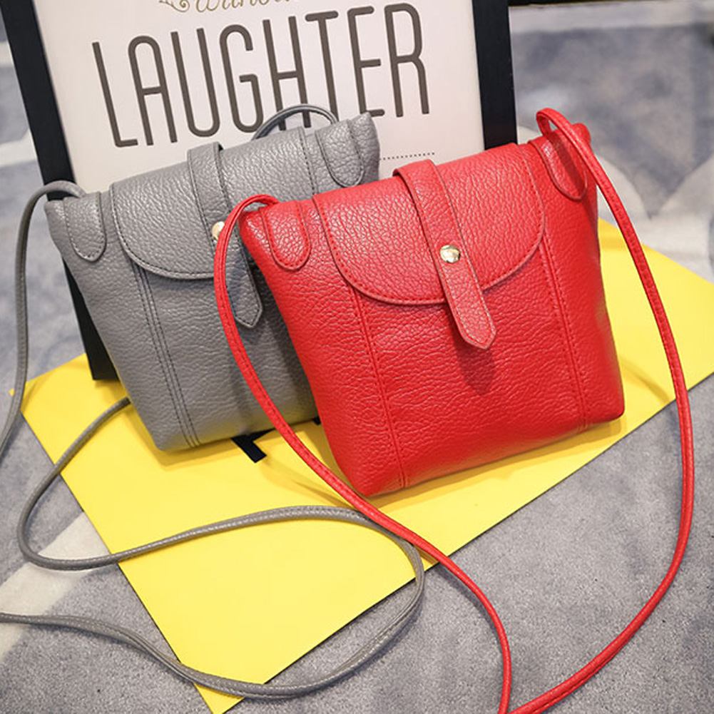 2016 Women Leather Handbags Famous Brand Women Small Messenger Bags Female Crossbody Shoulder Bags Clutch Purse Bag(China (Mainland))
