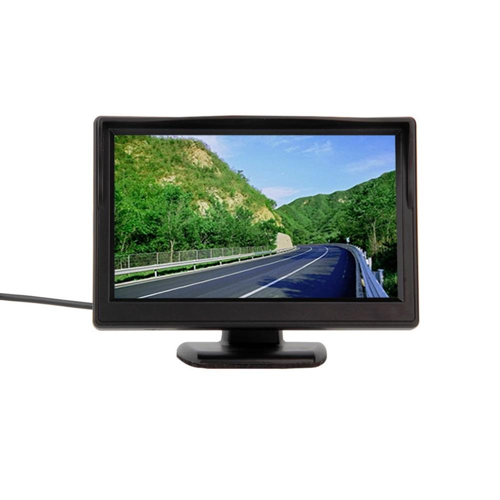 """1pcs New 5"""" 800*480 (no 320*240) Car TFT LCD Monitor Screen 2ch Video Hot Worldwide(China (Mainland))"""