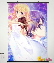 Anime Your Lie in April Miyazono Home Decor Poster Wall Scroll Japan Cosplay 42