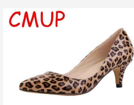 women's high heel pumps shoes leopard glitter heels snake leopard zebra shoes pink high prom heels white shoes woman size 34-42(China (Mainland))
