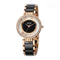Kimio Brand Imitation Ceramic Bracelet Dress Watch Luxury Crystal Quartz Watches Japan Movement For Women relogio