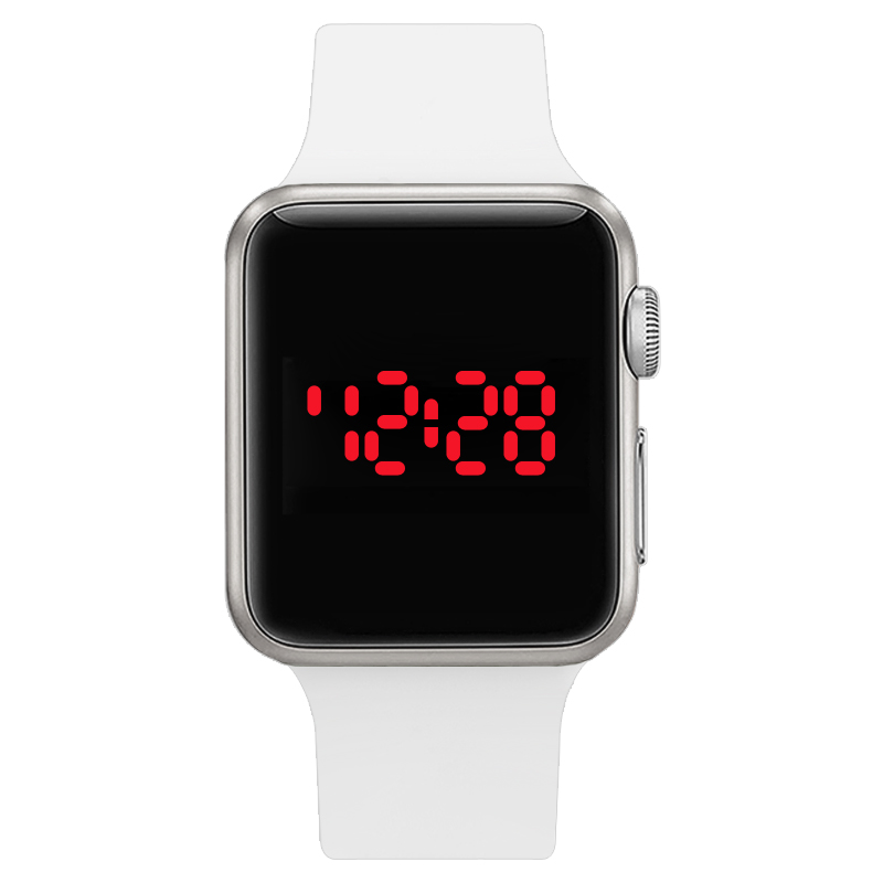 watch Series 1 Fashion cool men's watches LED electronic watch couple table sports student digital fashion women's watch(China (Mainland))