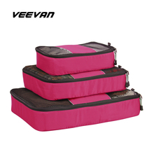 3PCS / Set New Storage Boxes & Bins Personalized Clothing Organizer Glossy Home Cases Receive Bag for Clothes Travel Accessories(China (Mainland))