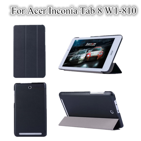 20PC/LOT , W1-810 Flip Magnet Cover Case For Acer Inconia Tab 8 W1-810 Stand Leather Cover Case Wholesale<br><br>Aliexpress