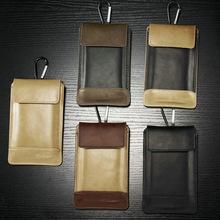 2016New Original Design Anti-scratch wear Outdoor PU Mini Belt Pouch Holster Bag Phone wallet Sports Money Bag