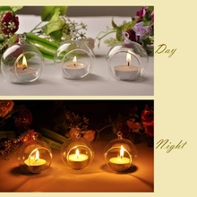 Newest 1PCS Crystal Glass Candlestick Weeding Home Decor Hang Candle Holders Romantic Dinner Practical 2016(China (Mainland))