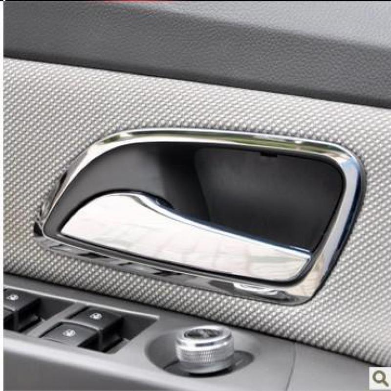 4pcs/set Chrome Car Accessories Stainless Steel Interior Door Handle Lock Cover Frame Fit For Chevrolet Cruze 2009 - 2013(China (Mainland))