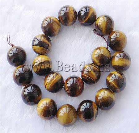 Free shipping!!!Tiger Eye Beads,Personality, Round, 14mm, Hole:Approx 1mm, Length:15.5 Inch, 5Strands/Lot, Sold By Lot