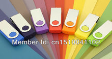 Caliente venta rectángulo u disco giratorio de plástico USB Flash Drive 2 GB 4 GB 8 GB 16 GB 32 GB 64 GB usb2.0 memoria Flash unidad Flash giro S82(China (Mainland))