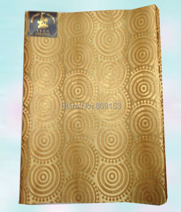 Free shippin !! (2pcs/set) beige gold color African headties sego wholesale African head tie for lady HT313B(China (Mainland))